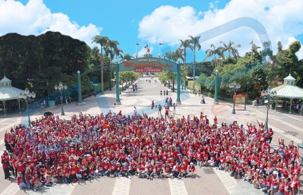 Hongkong Disneyland 800pax